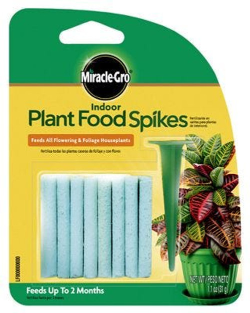 Miracle-Gro Plant Food Spikes, 1.1 Oz.