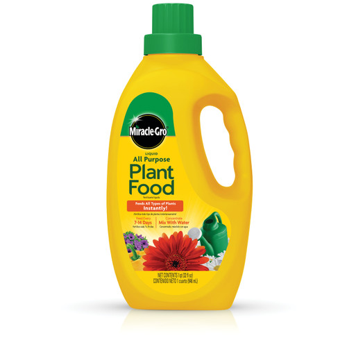 Miracle-Gro Liquid All Purpose Plant Food, 32 Oz.