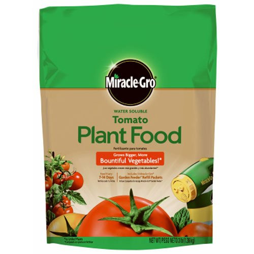 Miracle-Gro Water Soluble Tomato Plant Food, 3 Lbs.