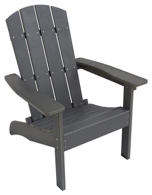 Seasonal Trends Resin Wood Adirondack Chair