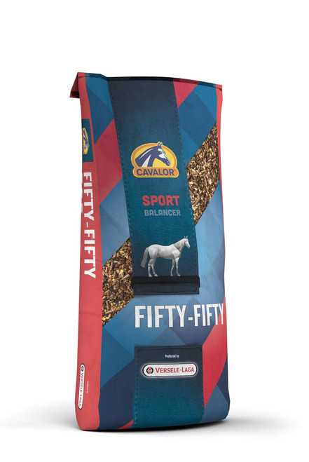 Cavalor Fifty Fifty Textured Horse Feed, 44 Lbs.