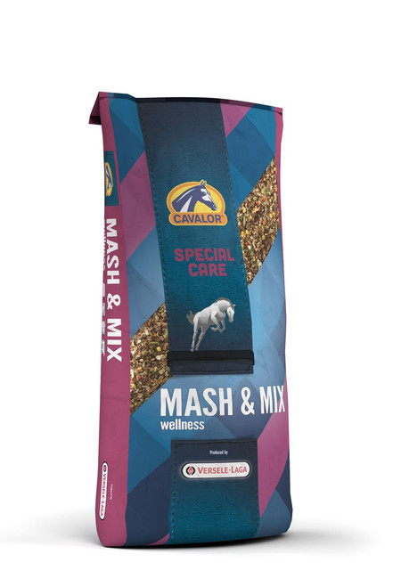 Cavalor Mash & Mix Textured Horse Feed, 33 Lbs.