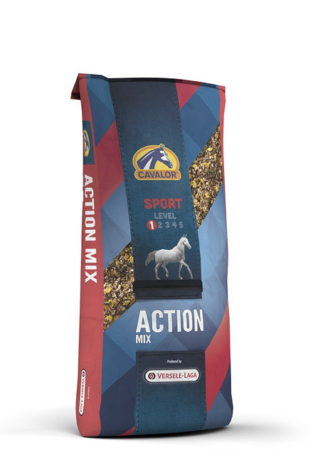 Cavalor Action Mix Textured Horse Feed, 48.5  Lbs.
