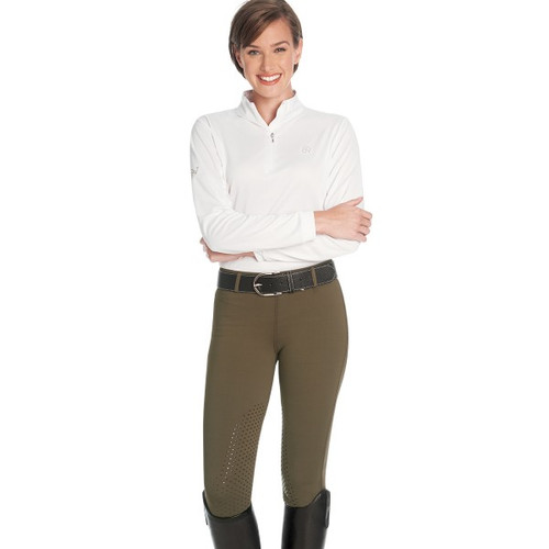 Ovation AeroWick Ladies' Silicone Knee Patch Tights
