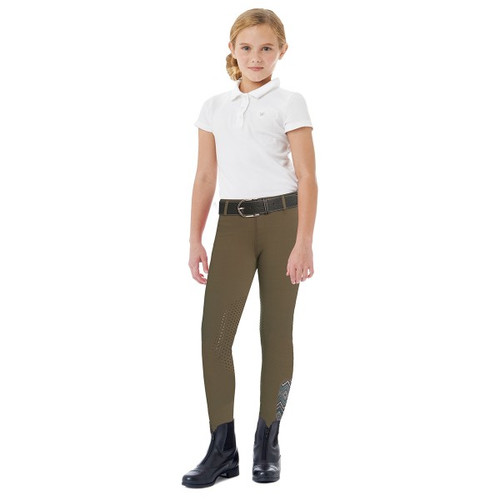 Ovation AeroWick Kid's Silicone Knee Patch Tights