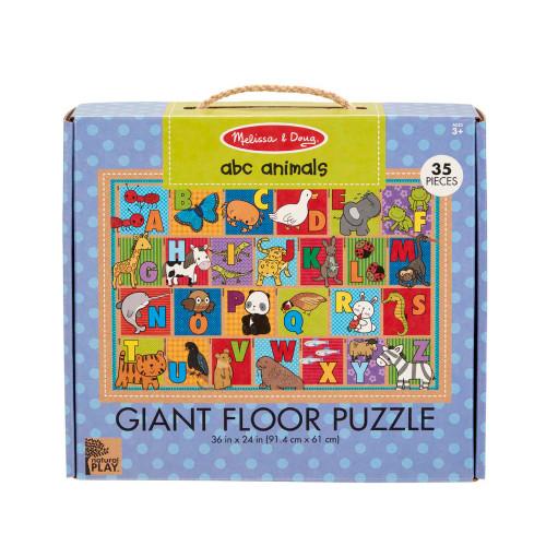Melissa & Doug ABC Animals Giant Floor Puzzle