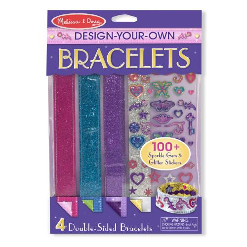 Melissa & Doug Design-Your-Own Bracelets Craft Kit