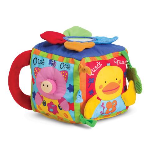 Melissa & Doug Farmyard Cube Learning Toy