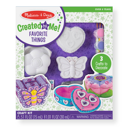 Melissa & Doug Created By Me Favorite Things Craft Kit