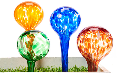 Giftcraft Glass Watering Ball Stake