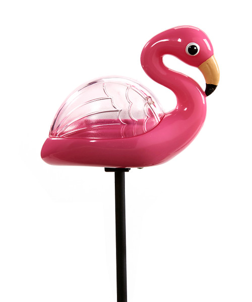 Giftcraft Solar Lighted Flamingo Stake