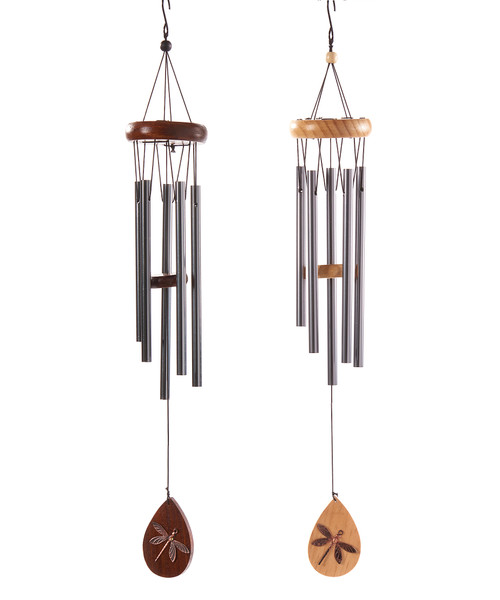Giftcraft Basic Wooden Windchimes