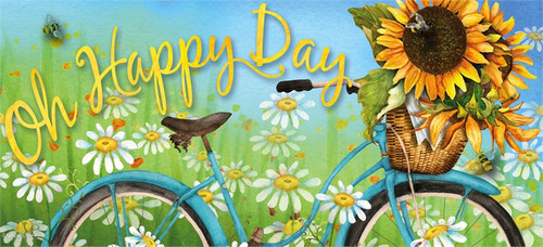 Evergreen Oh Happy Day Sunflowers Switch Mat