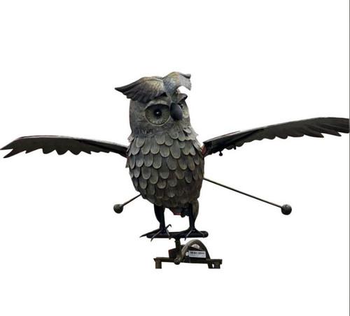 Esschert Metal Owl Rocker, Large