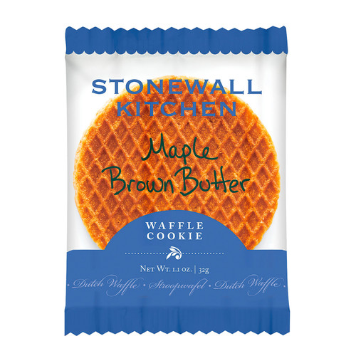 Stonewall Kitchen Maple Brown Butter Waffle Cookie