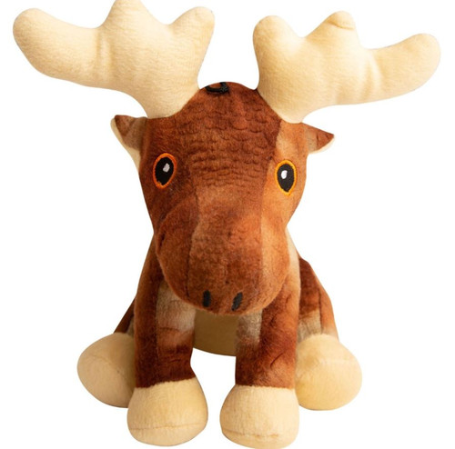 "Snugarooz Snugz Marty The Moose Dog Toy, 6"""