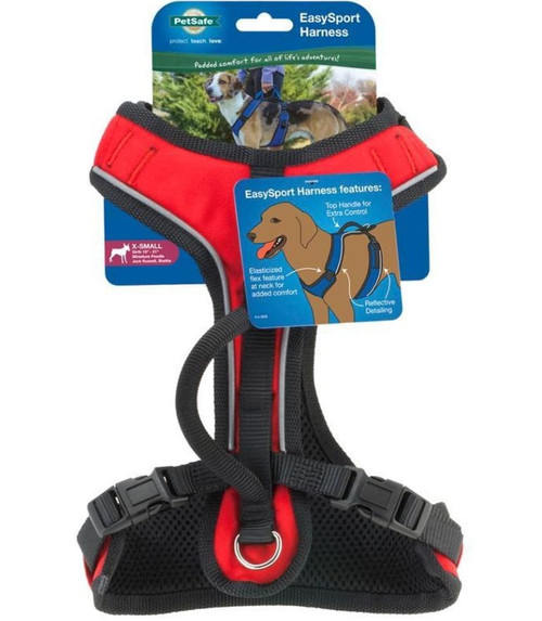 Petsafe Easysport Dog Harness, Extra Small, Red