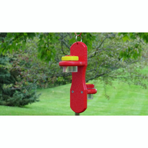 Nature Products Nectar Dots Double Hanging Hummingbird Feeder