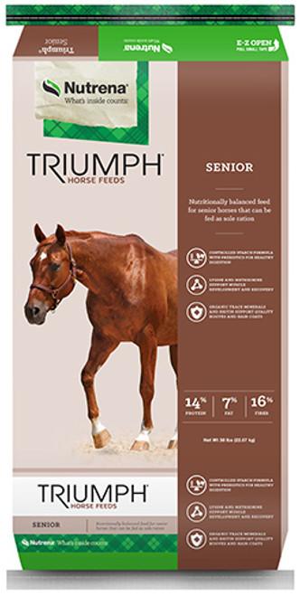 Nutrena Triumph Senior Horse Feed, 50 Pounds