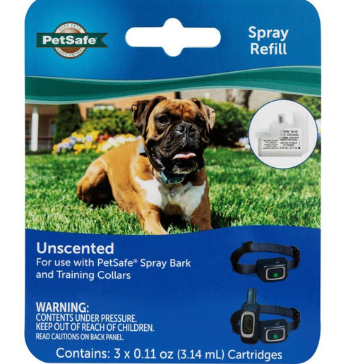Petsafe Uscented Spray Refill, 3 Pack