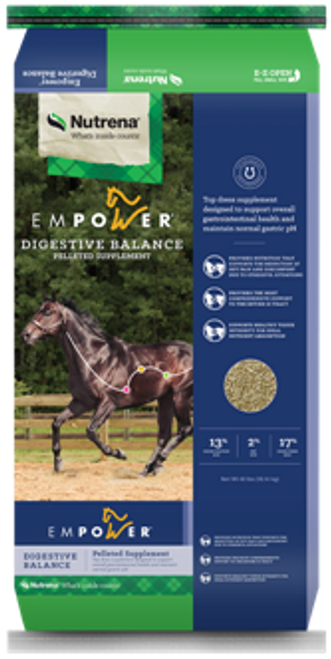 Nutrena Empower Digestive Balance Horse Pelleted Supplement, 40 Lbs.