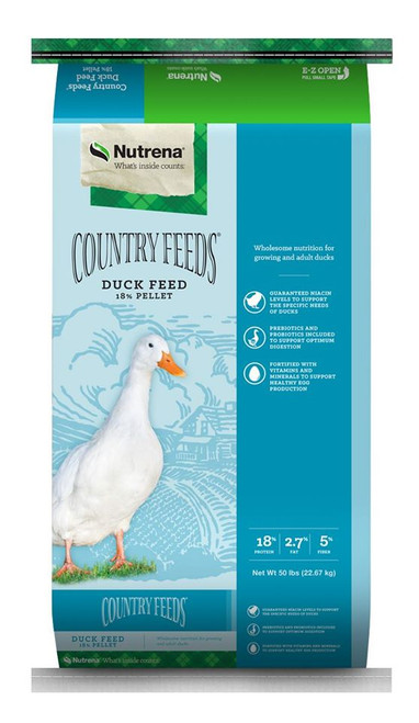 Nutrena Country Feeds  Duck Pellets, 50 Pounds