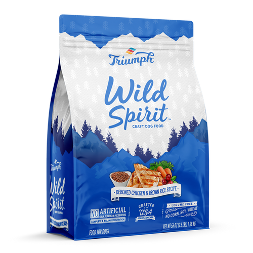 Triumph Wild Spirit Chicken & Brown Rice Dog Food