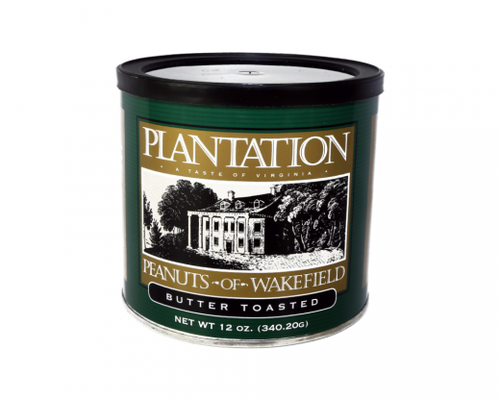 Plantation Peanuts of Wakefield Butter Toasted Peanuts, 12 Oz.