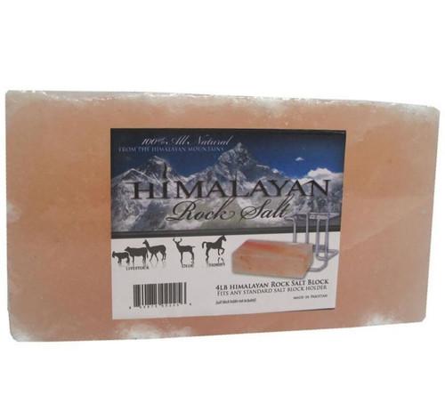 Himalayan Rock Salt Block For Horses, 4 Lbs.