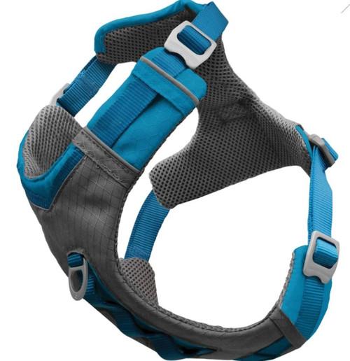 Kurgo Journey Air Dog Harness, Blue/Gray