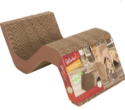 Petlinks Scratcher's Choice Corrugated Curl Cat Scratcher