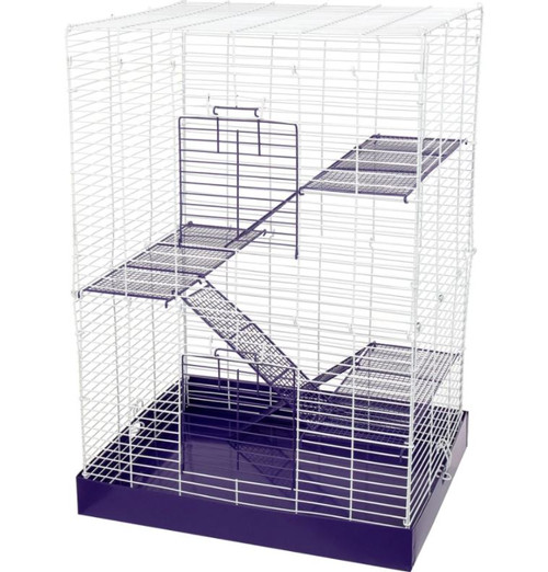 """Ware Chew Proof 4-Story Small Animal Cage, 17x12.75x24"""""""
