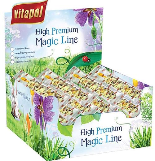 Vitapol Magic Line Small Animal Treat Stick, Lemon