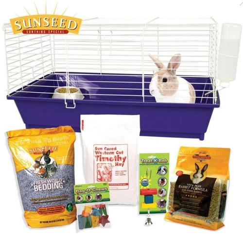 Sunseed Home Sweet Home Rabbit Starter Kit