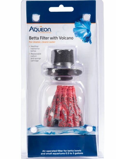 Aqueon Betta Filter With Volcano