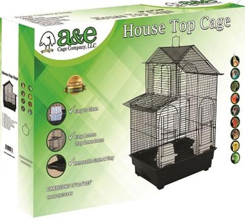 A&E House Top Bird Cage