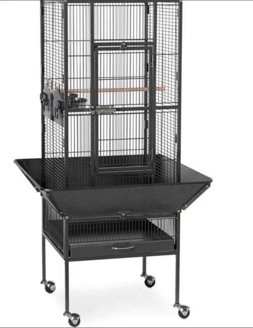 Prevue Pet Park Plaza Black Bird Cage