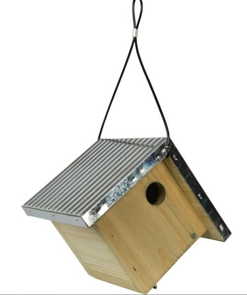 Nature's Way Galvanized Weathered Wren House