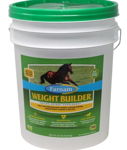 Farnam Weight Builder Equine Weight Supplement, 22.5 Lbs.