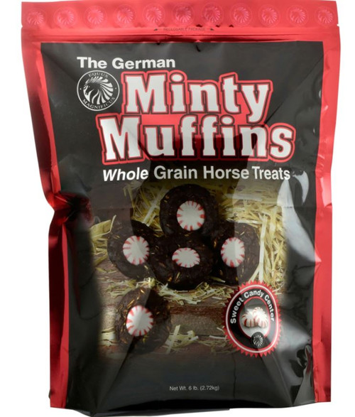 The German Minty Muffins Horse Treats, 6 Lbs.