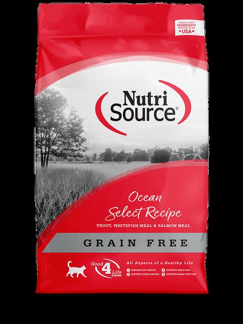 NutriSource Grain Free Ocean Select Recipe Dry Cat Food