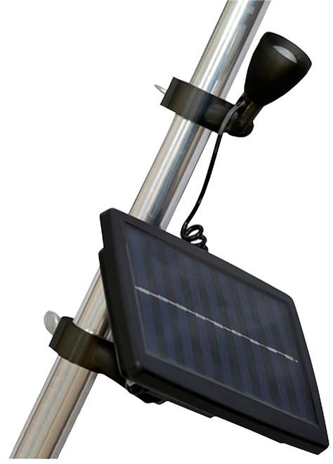 Valley Forge Solar Flagpole Microlight, Black