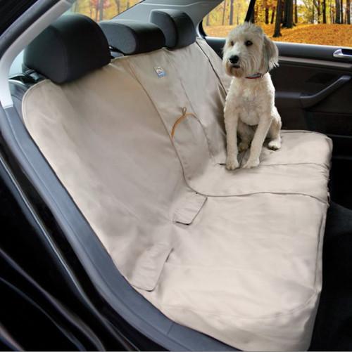 Kurgo Bench Seat Cover, Khaki