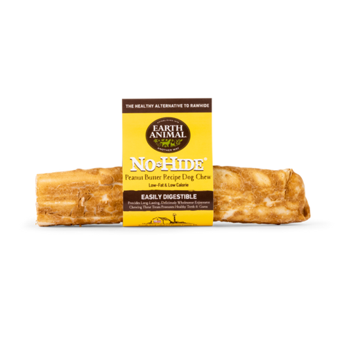 Earth Animal No-Hide Peanut Butter Wholesome Dog Chews