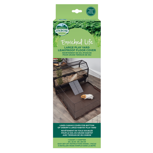 Oxbow Enriched Life Leakproof Play Yard Floor Cover, Large