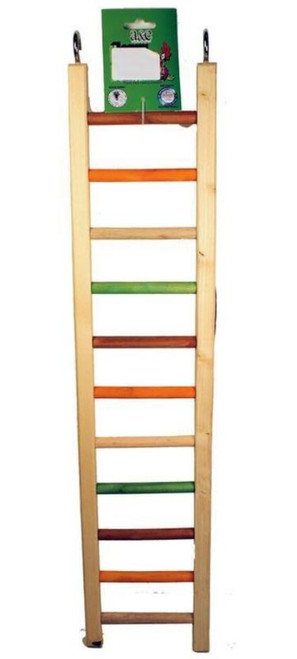 A&E Happy Beaks Wooden Hanging Ladder