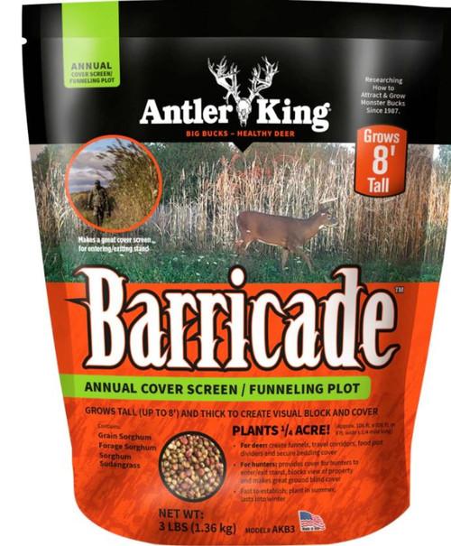 Antler King Barricade Annual Cover Screen & Bedding Plot, 3 Lbs.