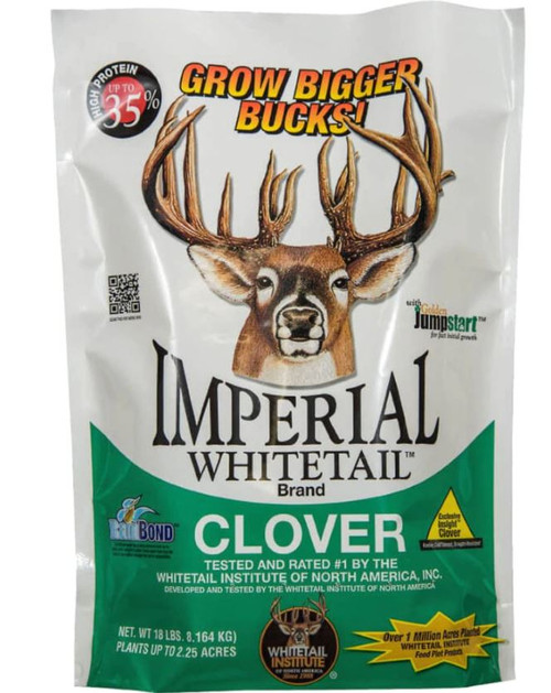 Imperial Whitetail Clover, 18 Lbs.