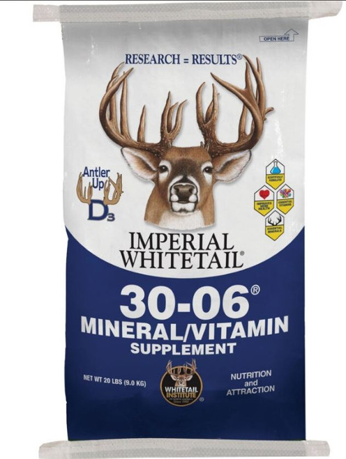 Imperial Whitetail 30-06 Mineral/Vitamin Supplement, 20 Lbs.