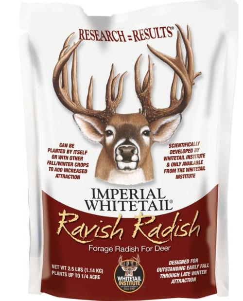 Imperial White Ravish Radish, 2.5 Lbs.